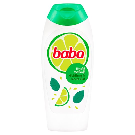Baba Lime & Mint Refreshing Shower Gel 400 ml