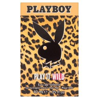 Playboy Play It Wild női eau de toilette 40 ml