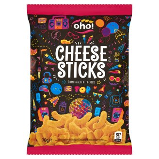 Oho! Cheese Sticks kukoricachips sajttal 70 g