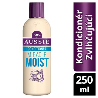 Aussie Miracle Moist Conditioner For Dry, Really Thirsty Hair 250ML