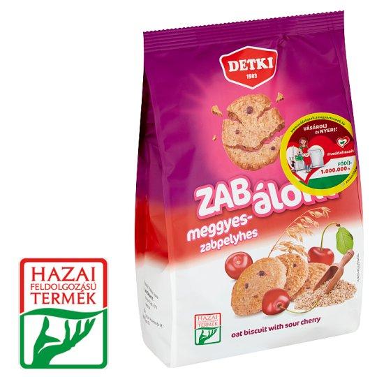 Detki Zab Álom meggyes-zabpelyhes omlós keksz 180 g