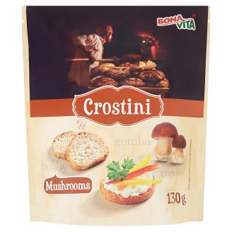 Bona Vita Crostini with Mushroom Flavour 130 g