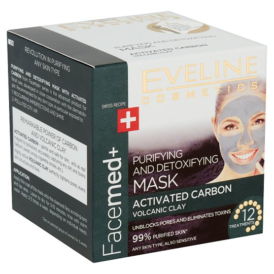 Eveline Cosmetics Facemed+ Purifying and Detoxifying Face Mask 50 ml