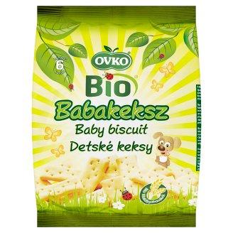 Ovko Organic Baby Biscuit 6+ Months 150 g