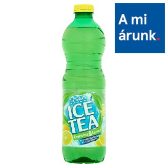 Tesco Ice Tea Lemon Flavoured Soft Drink with Green Tea Extract, Sugar and Sweetener 1,5 l