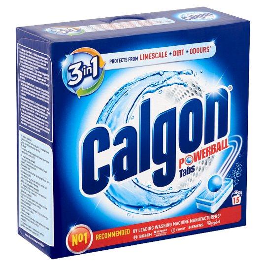 Calgon Powerball Water Softener Tablets 15 pcs