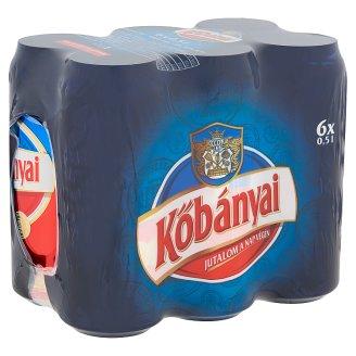 Kőbányai Lager Beer 4,3% 6 x 0,5 l