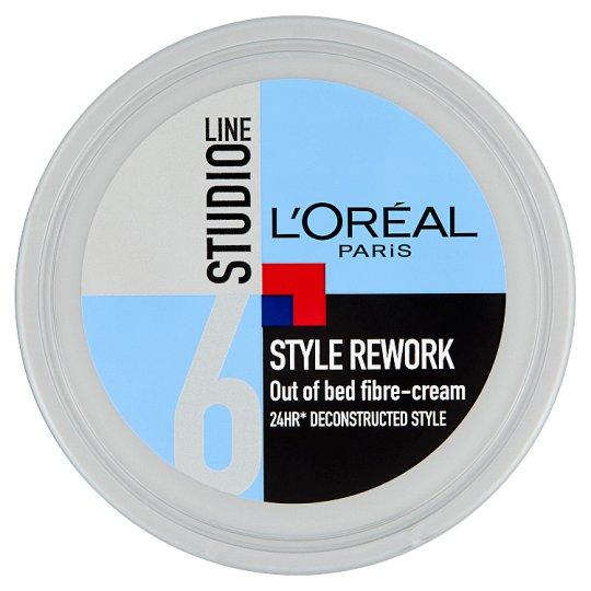 L'Oréal Paris Studio Line Style Rework Out of Bed hálós hajformázó krém 150 ml