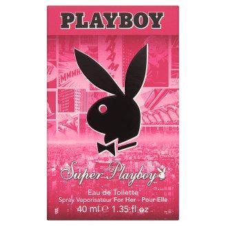 Playboy Super Playboy női eau de toilette 40 ml