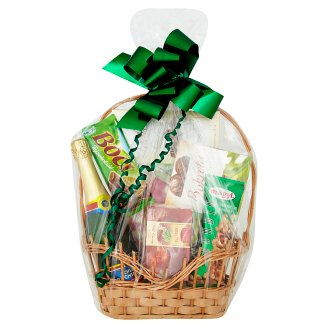 Small Green Gift Basket