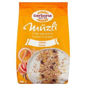 image 1 of Cerbona Muesli with Honey 200 g