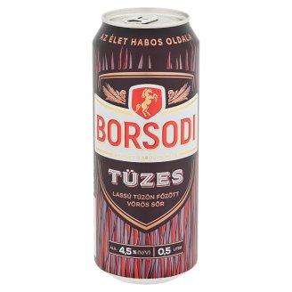 Borsodi Tüzes Slow Brewed Red Beer 4,5% 0,5 l