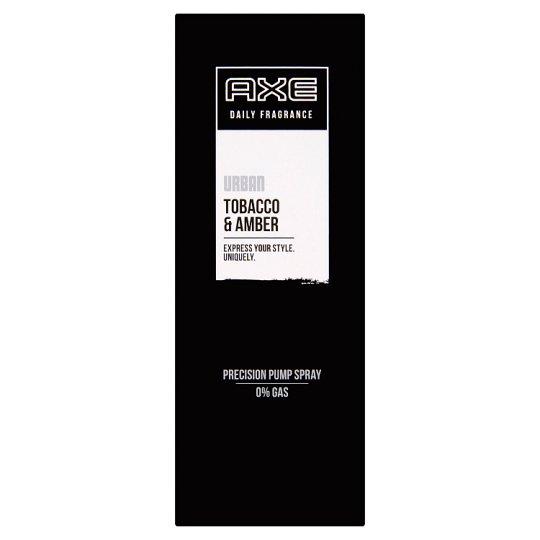 AXE Urban Tobacco & Amber Precision Pump Spray 100 ml