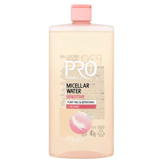 Tesco Pro Formula Sensitive Micellar Water 500 ml
