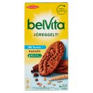 belVita JóReggelt! Cocoa Biscuits with Chocolate Chips and Cereals with Reduced Sugar Content 300 g