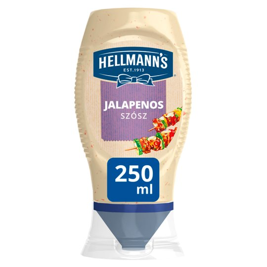 Hellmann's Sauce with Jalapenos 250 ml