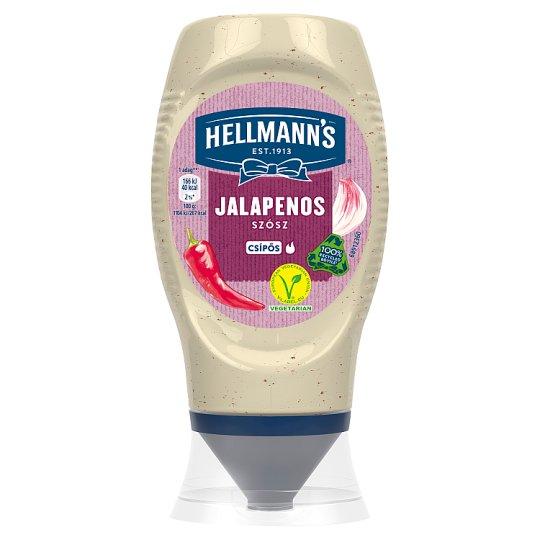 Hellmann's csípős jalapenos szósz 256 g
