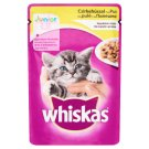 Whiskas Junior Complete Pet Food for Junior Cats with Chicken in Jelly Crystals 100 g