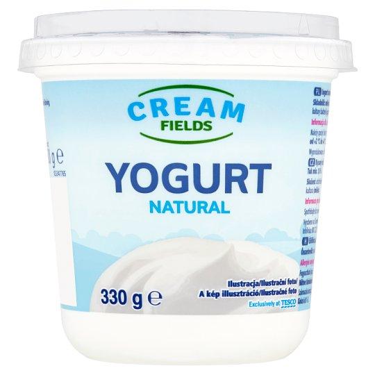 Cream Fields zsírszegény, élőflórás, natúr joghurt 330 g