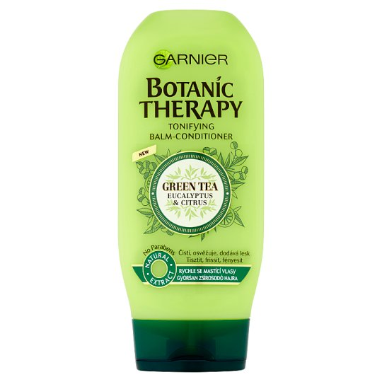 Garnier Botanic Therapy Green Tea Eucalyptus & Citrus Balm-Conditioner for Oil-Prone Hair 200 ml
