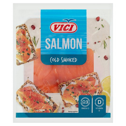 Vici Cold Smoked & Sliced Atlantic Salmon Fillet 50 g
