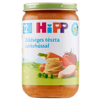 HiPP Organic Dairy-Free Pasta with Vegetables and Chicken Food for Babies 12+ Months 220 g