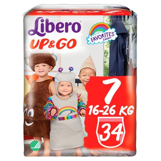 Libero Up&Go 7 16-26 kg prémium bugyipelenka 34 db