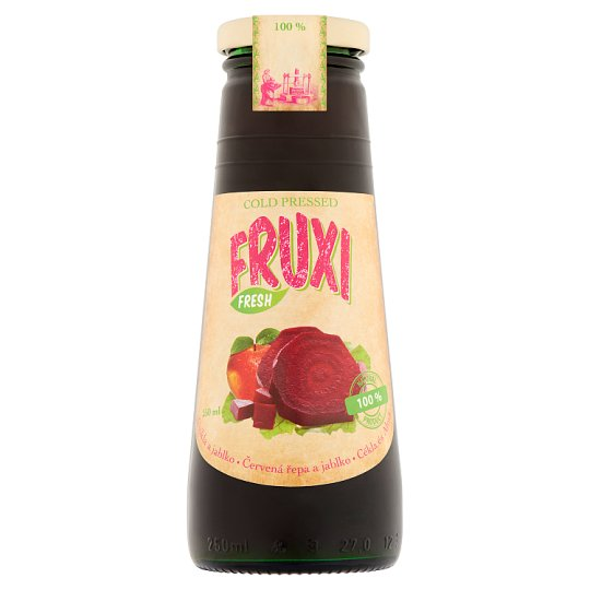 Fruxi Fresh Beetroot and Apple 100% Natural Beetroot and Apple Juice 250 ml