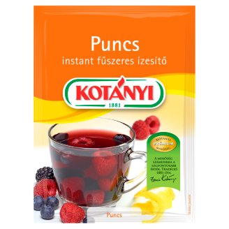 Kotányi Punch Instant Spicy Seasoning with Fruit Powder 30 g