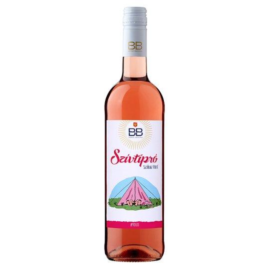 BB Szívtipró Dunántúli száraz rosébor 0,75 l