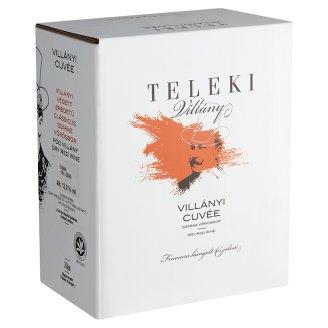 Teleki Villányi Cuvée száraz vörösbor 13% 3 liter