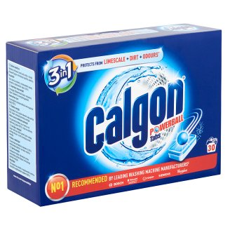 Calgon Powerball Water Softener Tablets 30 pcs