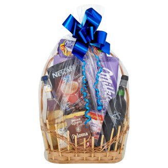 Medium Blue Gift Basket