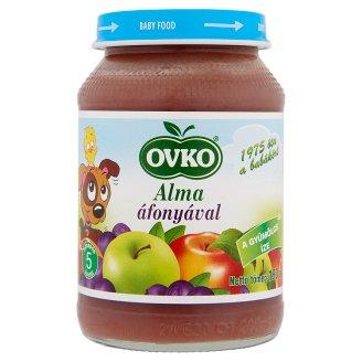 Ovko glutén- és tejszármazékmentes alma áfonyával bébidesszert 5 hónapos kortól 190 g