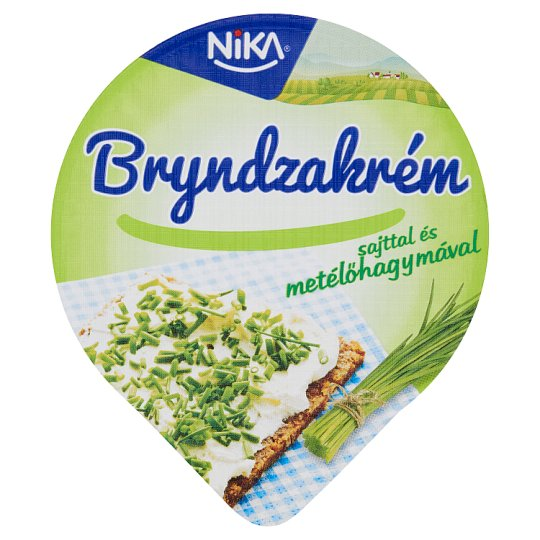 Nika Bryndza Cream with Cheese and Chives 130 g