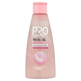 Tesco Pro Formula Sensitive Facial Gel with Jojoba Microcapsules 150 ml