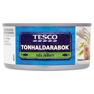 Tesco Tuna Pieces in Brine 185 g