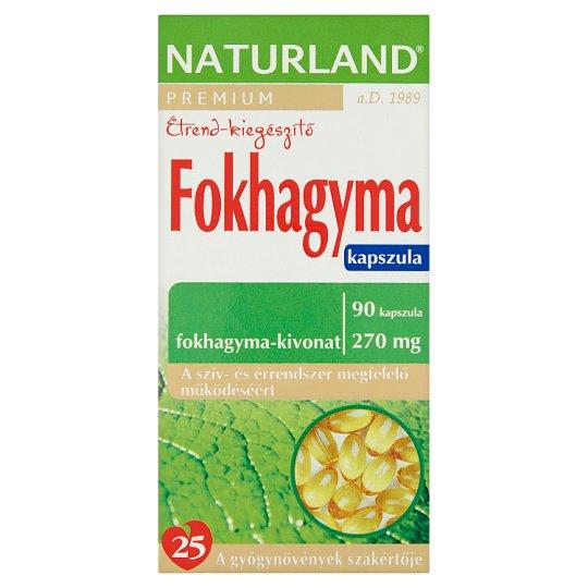 Naturland Premium Garlic Food Supplement Soft Gel Capsules 90 pcs 36,54 g