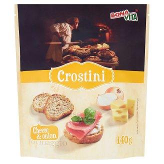 Bona Vita Onion Crostini with Cheese Flavour 140 g