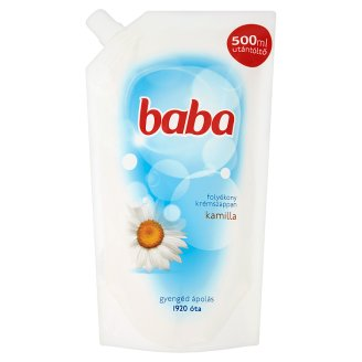 Baba Camomile Liquid Lotion Soap Refill 500 ml