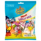 Tesco Candy Carnival Heart Shaped Hard-Boiled Lollipops in Assorted Flavours 120 g