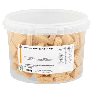Urbán & Urbán Wafers Filled with Lemon Flavoured Cream 1000 g