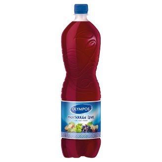 Olympos Mediterrán Ízek Apple-Grape-Red Grape Drink 1,5 l