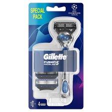 Gillette Fusion5 ProGlide Football Razor For Men + 3 Blades