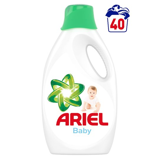 Ariel Washing Liquid Baby 2.2 L, 40 Washes
