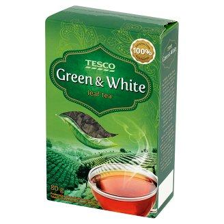 Tesco Loose Green & White Tea Mix 80 g