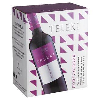 Teleki Portugieser száraz vörösbor 12% 3 liter