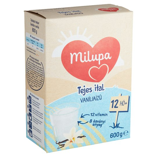 Milupa Junior 1 Vanilla Flavoured Drink for Kids 12+ Months 600 g