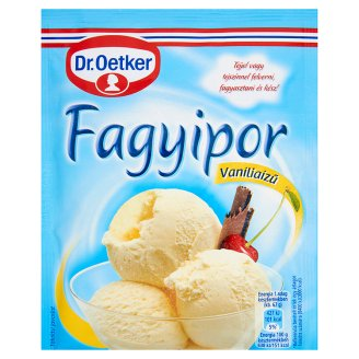 Dr. Oetker Vanilla Flavoured Ice Cream Powder 70 g