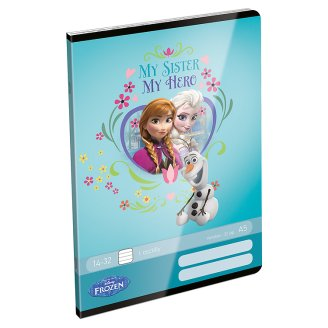 Disney Frozen A5 32 Sheets 14-32 1st Grade Lined Exercise Book